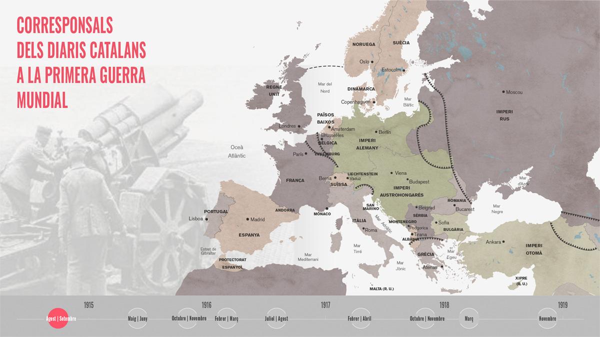 Llamas en la frontera. Cataluña y la Gran Guerra